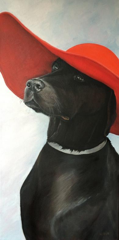 Bailey, 2016. Oil on Canvas 15x30. Available.